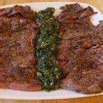 Argentinean Skirt Steak with Chimichurri Recipe