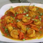 Chinese Shrimp Curry