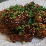 General Tso's Chicken Wings Recipe